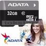 Memoria Micro Sd 32 Gb Clase 10 Adata Premier Ultra Rapida