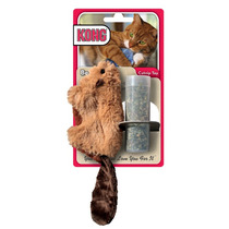 Ardilla Rellenable Con Catnip | Marca Kong
