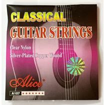 Cuerdas Para Guitarra Clasica Nylon Alice A107