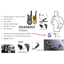Audifono Microfono Con Ptt Para Takbouth 1 Pins