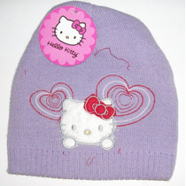Gorro De Lana Lila Kitty
