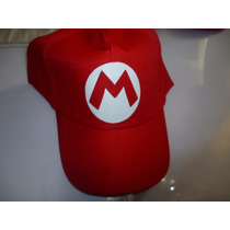 Gorra Jockey Video Juego Mario Bros Estampado Vinilo