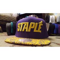 Snapback Mitchell And Ness Staple 100% Original/new Era