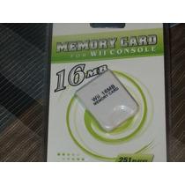 Memory Card Para Wii 16 Mg. 3 X 10000.