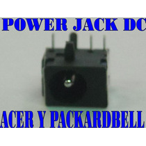 Power Jack Dc Notebook Para Acer Y Packardbell - Nuevos