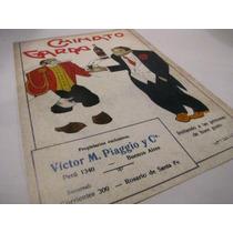 Poster Afiche Licor Cainato Garda Publicitario Antiguo