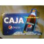 Aviso Publicitario Letrero En Relieve Caja Pepsi Nuevo
