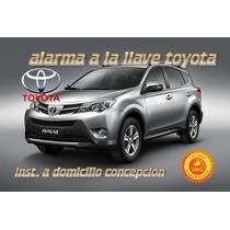 Alarma A La Llave Toyota Rav4 2012-14 Inst Domi Concepcion