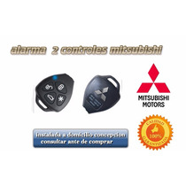 Alarma 2 Controles Mitsubishi Inst. A Domicilio Concepcion.