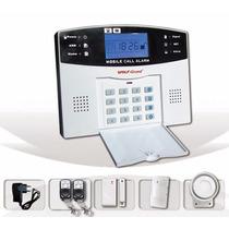 Alarma Inalambrica Gsm Para Casa Y Negocio C/llamada