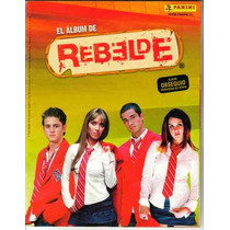 Album Rebelde - Rbd Panini 2006 (pocas Laminas).