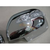 Cubre Espejos Cromadas Con Led Toyota Hilux