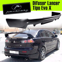 Difusor / Deflector Lancer Tipo Evo X - Calidad Pmercury