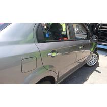 Cubre Manillas Cromadas Chevrolet Aveo Sedan