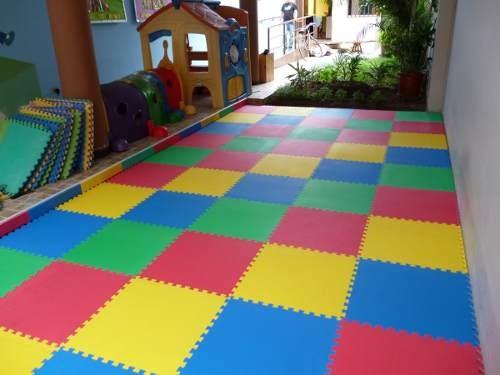 alfombra piso goma eva set piezas x cm x grosor