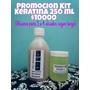 Kit Keratina 250 Ml + Shampoo+instructivo (hasta 4 Alisados)