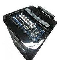 Equipo Amplificador Recargable Mas Microfono Inalambrico