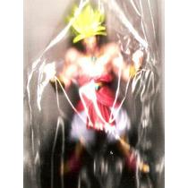 Animeantof: Broly - Brolly - Figura Dragon Ball Z Base Negra