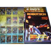 Animeantof: Dvd Robotech Coleccion Completa Editorial Edisur