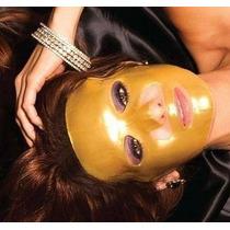 Mascara Facial De Colágeno, Y Ac Hialuronico Oro 24k
