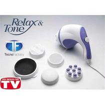 Masajeador Electrico Relax & Tone Reductivo Anti Celulitis