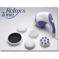 Masajeador Relax & Tone Modelador Y Reductor Con 5 Cabezas