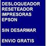 Desbloqueador Reset Impresora Epson T10 - Envio Por Internet