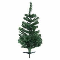 Árbol De Navidad Pequeño + 16 Pelotas Adorno + 148 Luces Led