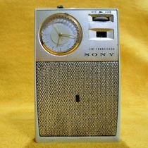 Radio Reloj Am Marca Sony , Años 60