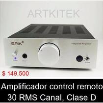 Amplificador Brik, Excelente Potencia, Control Remoto