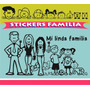 Sticker Auto Familia Adhesivos Personalizados