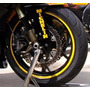 Adhesivos Reflectantes Aro 10 Llantas Rueda Moto 2 Sets