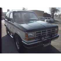 Jeep Ford Bronco Ii 2.9 Año 1990 Excelente Estado, Al Dia