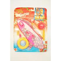 Set De Surf Tropical Splash Para Barbie De Los 90´s Nuevo