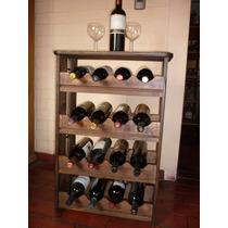 Cava Para Vinos Modelo Tudor. Capacidad 16 Botellas.