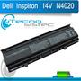Bateria Para Dell Inspiron 14v 14vr N4010 N4020 N4030 N4030d