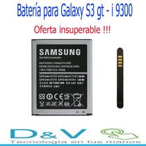 Batería Para Galaxy S3 I 9300, Original,oferta !!!