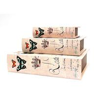 Set 3 Cajas Libro