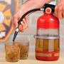 Dispensador Bebidas Con Forma De Extintor