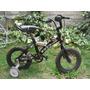 Bicicleta Aro 12 Con Ruedas De Apoyo