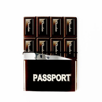 Porta Pasaporte Morph Funda Pass Chocolate