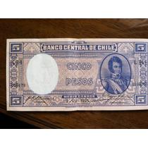 Vendo Billetes Chilenos Antiguos, 1935, Perfecto Estado