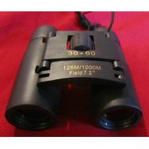 Binocular 30x60, Metálicos Recubiertos, Muy Portables