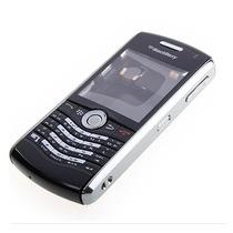 Carcasa Blackberry 8120 Negra Original Completa