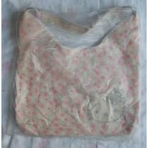 Bolso Kitty Plástico Crema