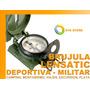 Brujula Lensatic Deportiva Militar Mineria Scout Topografia