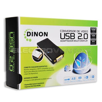 Conversor De Video Usb 2.0 A Dvi/vga/hdmi Ac15