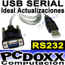 Cable Adaptador Usb A Serial Rs232 9 Pin Db9 Pc Y Notebook