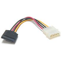 Cable De Poder De Molex (ide) A Sata