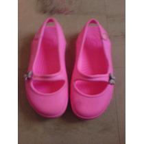 Sandalias Crocs De Niña Color Rosado Perlado